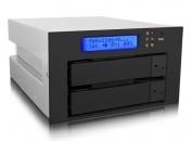 "RAIDON 锐铵 iR2620-2S-S2 2光驱位转2×3.5""内接RAID磁盘阵列"