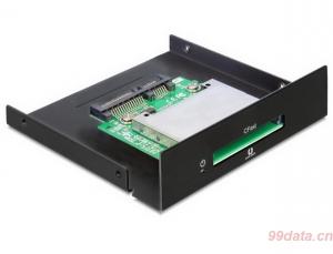 Delock 91680 CFast卡读卡器 SATA转CFast2.0转接卡(push push)