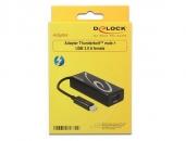 Delock  62634  Thunderbolt雷电接口转USB3.0接口转接线