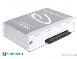 Delock 61971 Thunderbolt 雷电接口转 6Gbps SATA 转接头底座