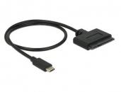 DELOCK 62673 USB 3.1 Type-C 10 Gbps转22 pin SATA 6 Gbps转接