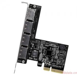 MAXPower 4口6Gbps eSATA RAID卡,支持 RAID 0/1/5/ 10