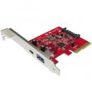 USB3.1 Gen2 10Gbps Type C + Type A转接卡,支持Windows/Linux/Mac OS