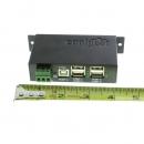 Coolgear USBG-4U2ML  USB 2.0 4口工业级Hub 金属封装