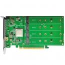 Highpoint SSD7505 M.2 NVMe PCIe 4.0 x16 RAID阵列卡