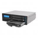 "RAIDON IR2023 2x2.5"" HDD/SSD RAID与1x2.5"" JBOD工业级硬盘盒2光驱位"