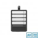 Stardom ST4-U6 4盘SFF-8644 miniSAS 12G SAS/SATA硬盘阵列柜
